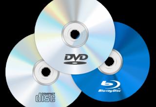 Диски DVD, надані бібліотеці ТРК Славутич